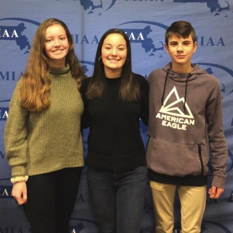 Our three SA MIAA ambassadors (pictured pre-Covid)
