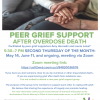 Peer Grief Support Overdose Deathnew group forming. See attached flyer or contact School Nurse Jean Hobbie for more information.